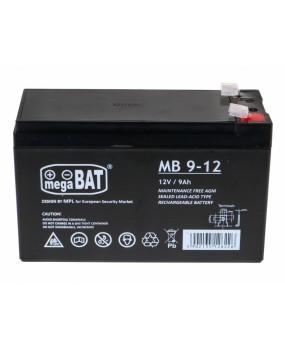 Batéria pre elektrické autíčka 12 V / 9 Ah